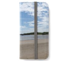Llanddwyn panoramic iPhone Wallet/Case/Skin