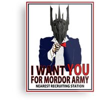 I WANT YOU Metal Print