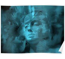 Flowers in my Head - JUSTART ©  Poster