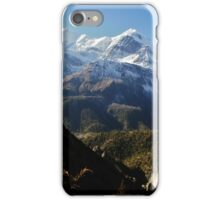 Nepalese mountains iPhone Case/Skin