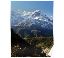 Nepalese mountains Poster