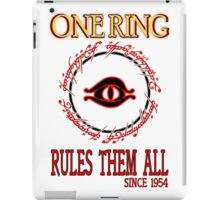 One Ring ver.2 iPad Case/Skin