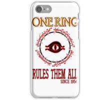 One Ring ver.2 iPhone Case/Skin