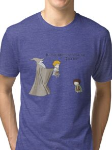 It's Dangerous to Go Alone. Take this. Tri-blend T-Shirt