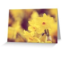 Happy Spring - JUSTART © Greeting Card
