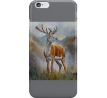 Prince Of The Glen (red stag) iPhone Case/Skin