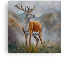 Prince Of The Glen (red stag) Metal Print