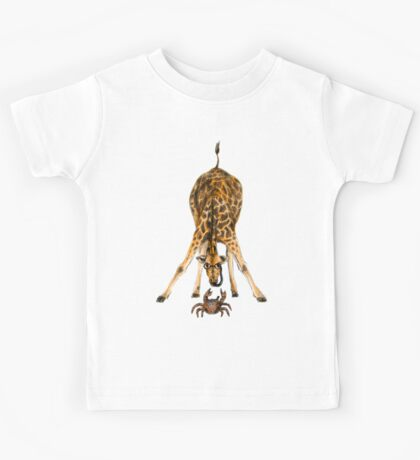 Curiosity killed the cat, not the giraffe Kids Tee