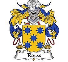 Rojas Coat of Arms/Family Crest Photographic Print