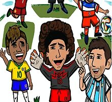 The World Cup Toons by bomvibes