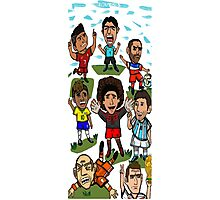 The World Cup Toons Photographic Print