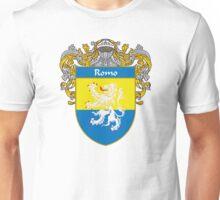 Romo Coat of Arms/Family Crest Unisex T-Shirt