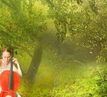 Forest Music Sticker
