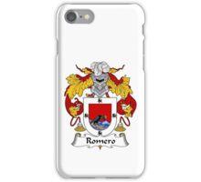 Romero Coat of Arms/Family Crest iPhone Case/Skin