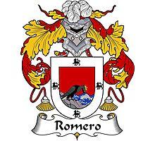 Romero Coat of Arms/Family Crest Photographic Print