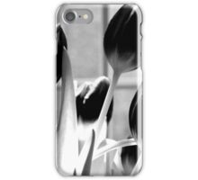 Tulips - infrared iPhone Case/Skin