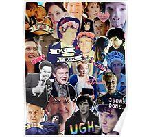 Sherlock collage 1 Poster