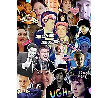 Sherlock collage 1 Photographic Print