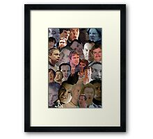 Sherlock collage 2 Framed Print