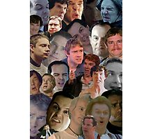 Sherlock collage 2 Photographic Print