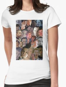 Sherlock collage 2 Womens Fitted T-Shirt