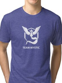 Pokemon Go - Team Mystic White Tri-blend T-Shirt