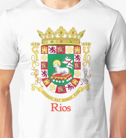 Rios Shield of Puerto Rico Unisex T-Shirt