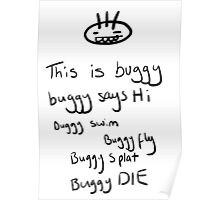 Buggy rhyme Poster