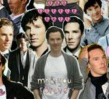 Sherlock collage 3 Sticker