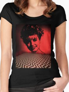 Laura Palmer - Twin Peaks Women's Fitted Scoop T-Shirt
