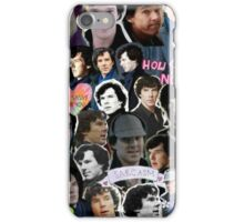 Sherlock collage 4 iPhone Case/Skin