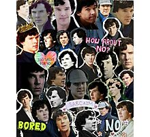 Sherlock collage 4 Photographic Print