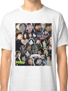 Sherlock collage 4 Classic T-Shirt