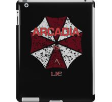 Arcadia is a lie... iPad Case/Skin
