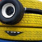 minion tires by Cheryl Dunning