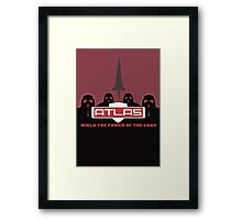 Wield the Power of the Gods Framed Print