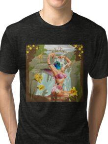 Hummingbird Wings Tri-blend T-Shirt