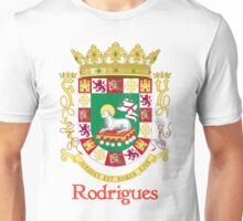 Rodrigues Shield of Puerto Rico Unisex T-Shirt