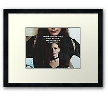 I want you Framed Print