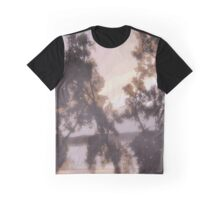 River Sunset Graphic T-Shirt