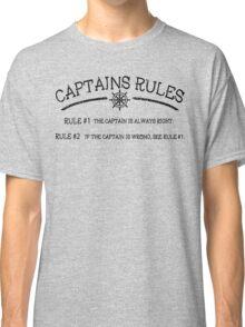 Captains Rules Classic T-Shirt