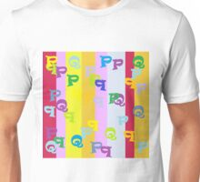 Mind Your P's and Q's Unisex T-Shirt