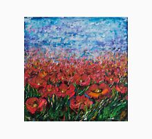 Red Poppy Field - by Lena Owens Unisex T-Shirt