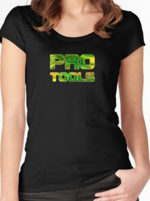 Pro tools Women's Fitted Scoop T-Shirt