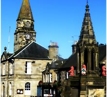 The Town Square Falkland by MY Scotland