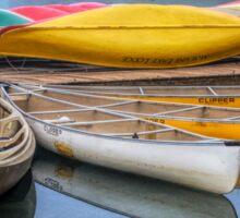 Moraine Lake Canoes Sticker