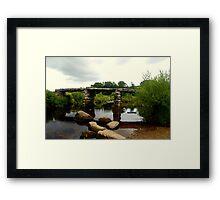 Clapper Bridge Framed Print