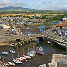 Castletown Harbour by RedHillDigital