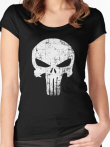 PUNISHER FOREVER  Women's Fitted Scoop T-Shirt