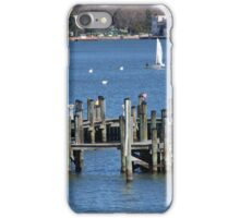 Docks in Annapolis iPhone Case/Skin